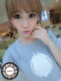 Circle lenses CICI Hee Love - Great Goddess (Black) - Girlsight  - 2