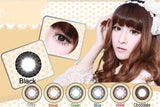 Circle lenses CICI Hee Love -  Great Lolita (Black) - Girlsight  - 2