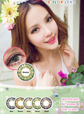 Circle lenses CICI Hee Love -  Pineapple three-color (Green) - Girlsight  - 3