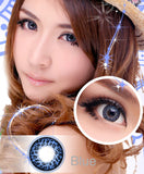 Circle lenses CICI Hee Love - Leopard Story (Blue) - Girlsight  - 3