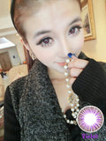 Circle lenses CICI Hee Love - Dandelion (Purple) - Girlsight  - 3