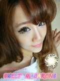 Circle lenses CICI Hee Love - Xiaobuding (Grey) - Girlsight  - 2