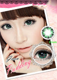 Circle lenses CICI Hee Love - Xiaobuding (Green) - Girlsight  - 2