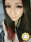 Circle lenses CICI Hee Love -  Sakura tri-color (Brown) - Girlsight  - 3