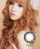 Circle lenses CICI Hee Love -   Rose milkshake (Grey) - Girlsight  - 3