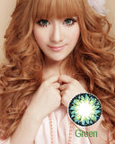 Circle lenses CICI Hee Love -   Rose milkshake (Green) - Girlsight  - 3