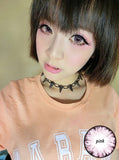 Circle lenses CICI Hee Love - Big Eye Girl (Pink) - Girlsight  - 3
