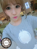 Circle lenses CICI Hee Love - Great Goddess (Black) - Girlsight  - 3