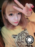 Circle lenses EYEWISH  -  If Qi (Black) - Girlsight  - 2