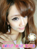 Circle lenses CICI Hee Love - Xiaobuding (Grey) - Girlsight  - 3