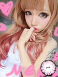 Circle lenses CICI Hee Love - Big Eye Girl (Pink) - Girlsight  - 4