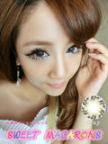 Circle lenses CICI Hee Love - Xiaobuding (Grey) - Girlsight  - 4