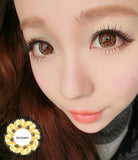 Circle lenses CICI Hee Love -  Sakura tri-color (Brown) - Girlsight  - 5