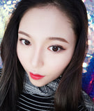 Circle lenses CICI Hee Love -  Extremely natural (black)