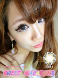 Circle lenses CICI Hee Love - Xiaobuding (Grey) - Girlsight  - 5