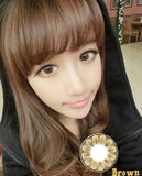 Circle lenses EYEWISH  -   Great Plum(Brown) - Girlsight  - 4