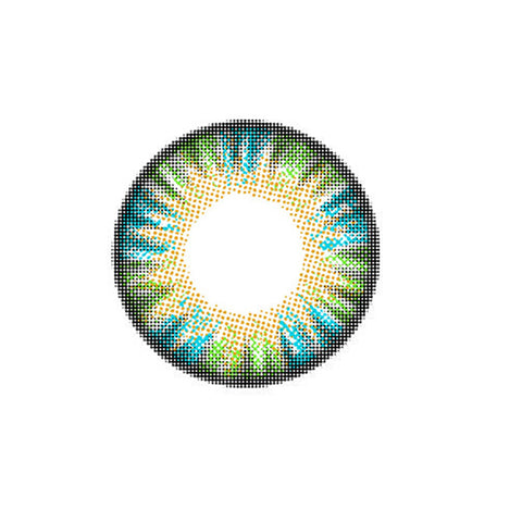 Circle lenses EYEWISH  -  Cake four colors (Green) - Girlsight  - 1