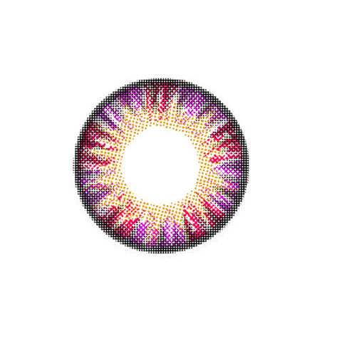 Circle lenses EYEWISH  -  Cake four colors (Purple) - Girlsight  - 1