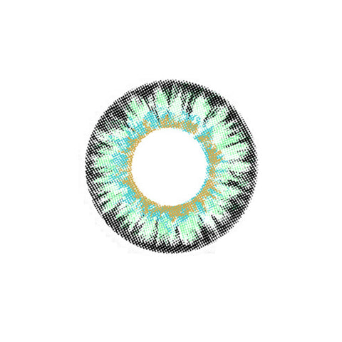 Circle lenses EYEWISH  - Dream four-color (Green) - Girlsight  - 1