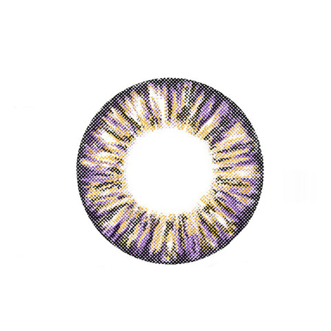 Circle lenses CICI Hee Love -  Pineapple three-color (Purple) - Girlsight