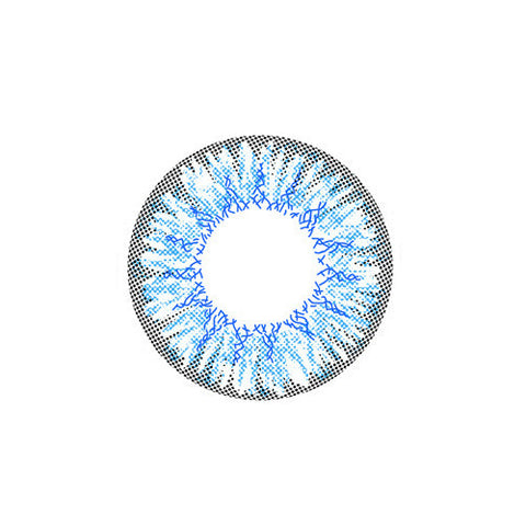 Circle lenses EYEWISH  -   Fireworks (Blue) - Girlsight