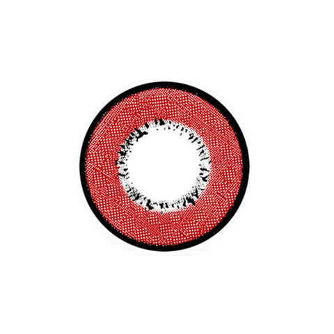 Circle lenses EYEWISH  -   Harajuku Storm (Red) - Girlsight