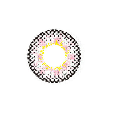 Circle lenses EYEWISH -  Large flower(Pink) - Girlsight