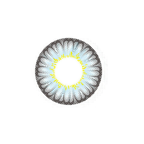 Circle lenses EYEWISH -  Large flower(Grey) - Girlsight