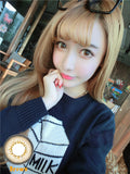 Contact Lenses  CICI Hee Love -  Cat eye (Brown) - Girlsight  - 3