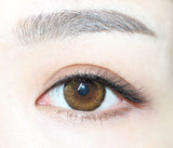 Cosmetic Contact Lenses EYEWISH -Honey (Brown)