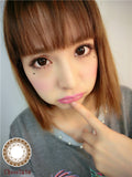 Contact Lenses  CICI Hee Love - Little black dress (Chocolate) - Girlsight  - 4