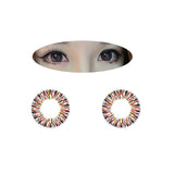 Circle lenses EYEWISH  - Refreshing (Red) - Girlsight  - 2