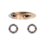 Circle lenses EYEWISH  -  Yugao (Black) - Girlsight  - 2