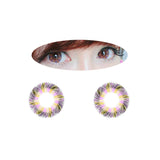 Circle lenses EYEWISH  -  Yugao (Pink) - Girlsight  - 2