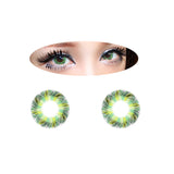 Circle lenses EYEWISH  -  Yugao (Green) - Girlsight  - 2