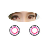 Circle lenses EYEWISH  - Dream four-color (pink) - Girlsight  - 2