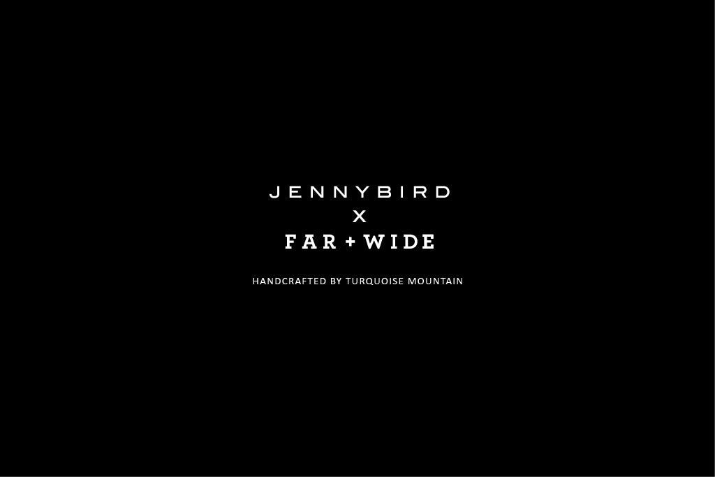 Jenny Bird x Far and Wide Campaign