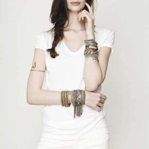 RiRi Bracelet in Gold by Jenny Bird