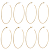 Monogram Hoops by Jenny Bird in Gold