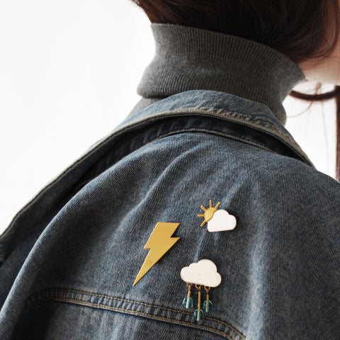 Thunder Struck Pin