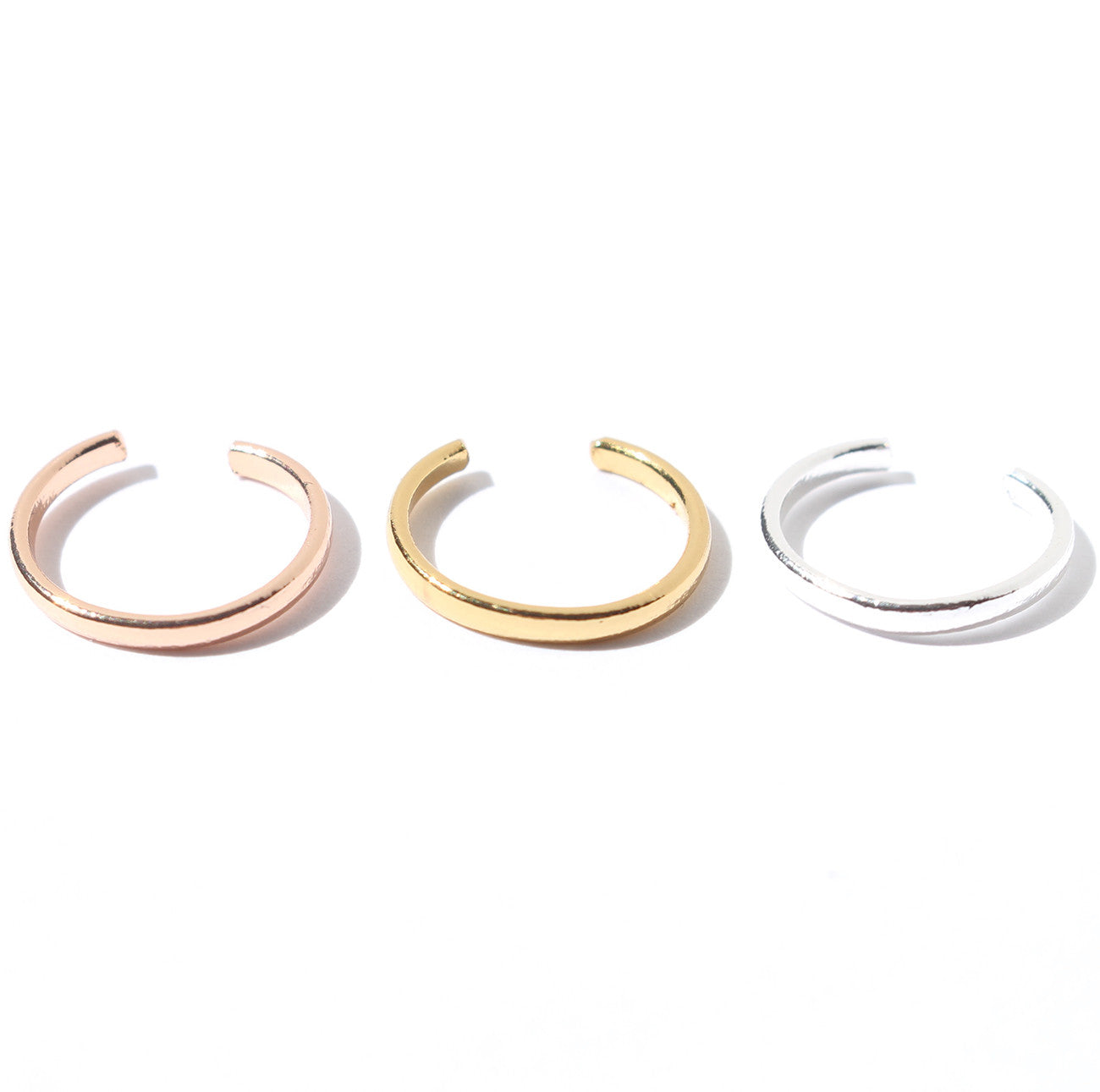 ceade56ee Jenny Bird Cleo Ear Cuff in Rose Gold, Gold and Silver