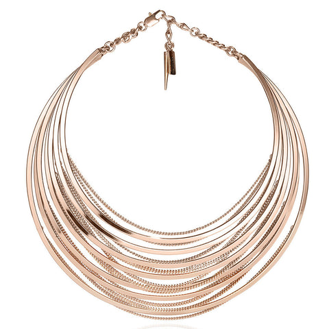 Illa Collar in Rose Gold by Jenny Bird