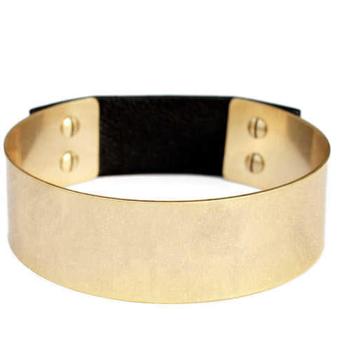 Jenny Bird THE Choker in Gold Ox