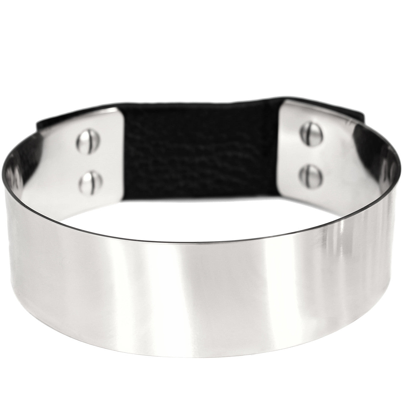 Jenny Bird THE Choker in High Polish Silver