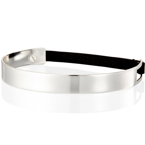 The Jane Choker by Jenny Bird in High Polish Silver