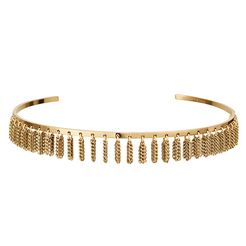 Jenny Bird Collins Ave. Choker in High Polish Gold
