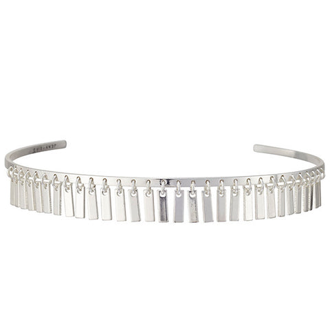Jenny Bird Raya Choker in High Polish Silver