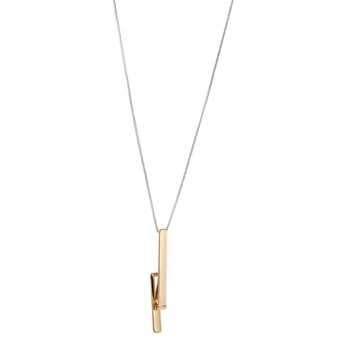 The Tidal Pendant by Jenny Bird in Two-Tone