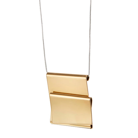 The Eli Pendant by Jenny Bird in Two-Tone