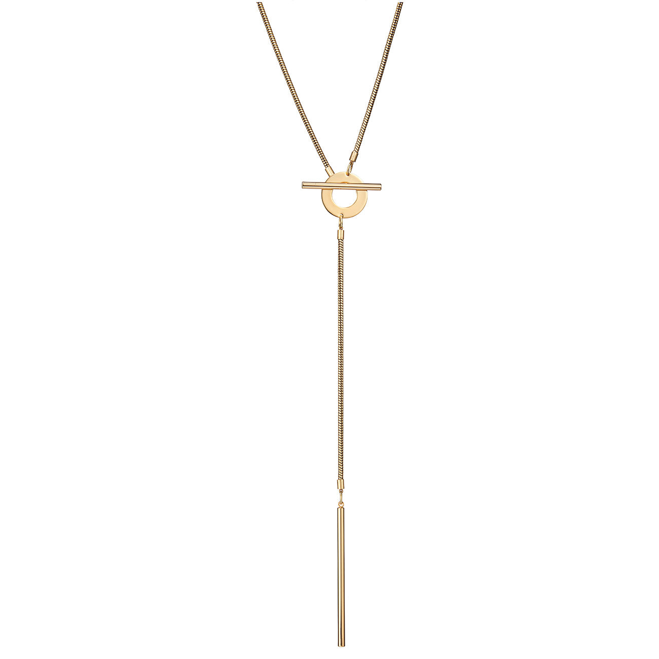 Rhye Lariat by Jenny Bird in Gold